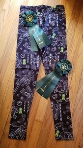 Agility Obedience Dog Breed Ladies Leggings Perfect for Agility
