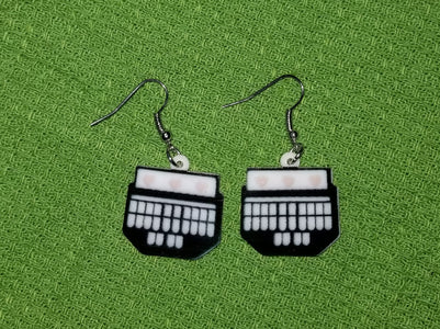 Court Reporter Stenographer Designed Lightweight Earrings Jewelry
