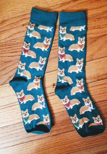 Bandana Western Pembroke Welsh Corgi Dog Socks