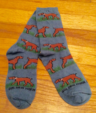 Vizsla Hunting Dog Socks