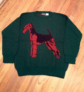 Airedale, Welsh, Lakeland Dog Terrier Ladies Sweater