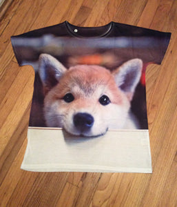 Japan's favorite Shiba Inu Dog Ladies Shirt