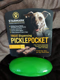 Starmark Treat Dispensing Pickle Pocket Toy For Agressive Chewers