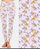 Pembroke Welsh Corgi Dog Breed Ladies Leggings