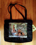 Waterproof Large Tote Airedale Terrier Dog Purse