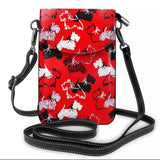 Scottish Terrier Scottie Dog Ladies Crossbody Purse