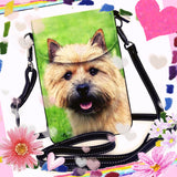 Cairn Terrier Dog Ladies Crossbody Purse