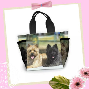 Cairn Terrier Dog Ringside or Lunch Tote