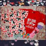 Boston Terrier Dog With Sweet Valentine's Day Cupcakes T-shirt