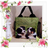 Australian Shepherd Aussie Puppy  Dog Ringside or Lunch Tote