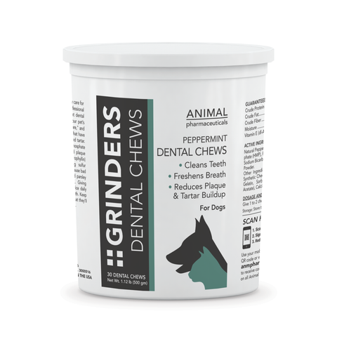 Grinders Dental Chews - Animal Pharmaceuticals