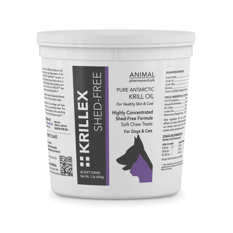 Krillex Shed-Free Soft Chews - Animal Pharmaceuticals