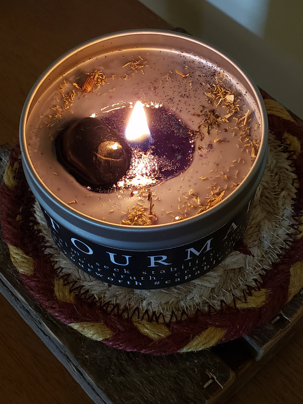 Numinous Crystal Candle Subscription