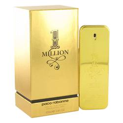 1 Million Absolutely Gold Pure Perfume Spray By Paco Rabanne - For Men