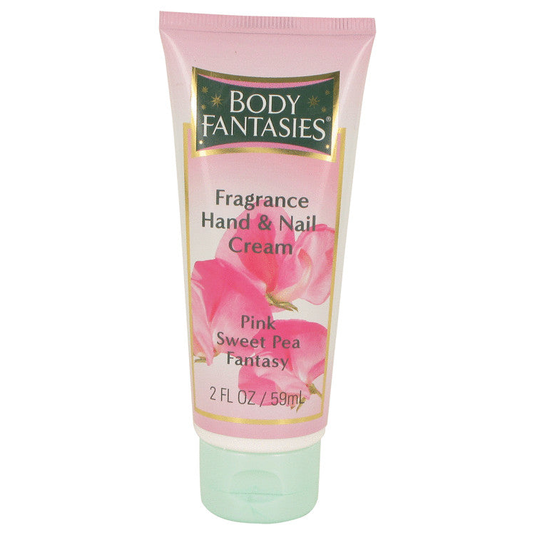 Body Fantasies Signature Pink Sweet Pea Fantasy Hand & Nail Cream By Parfums De Coeur - For Women