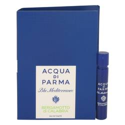Blu Mediterraneo Bergamotto Di Calabria Vial (sample) By Acqua Di Parma - For Women