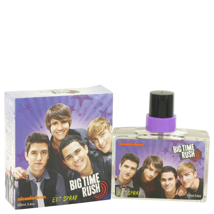 Big Time Rush Eau De Toilette Spray By Nickelodeon - For Men