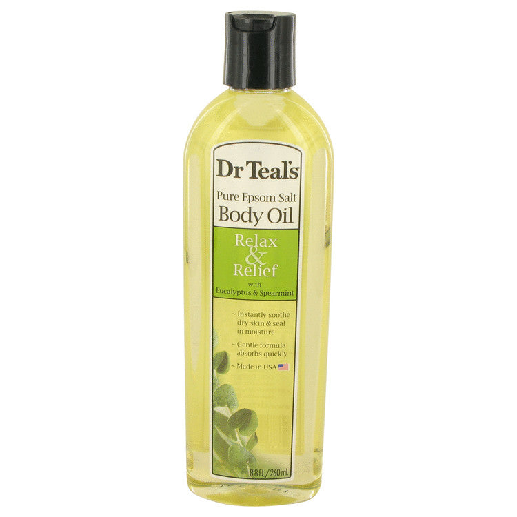 Dr Teal's Bath Additive Eucalyptus Oil Pure Epson Salt Body Oil Relax & Relief with Eucalyptus & Spearmint By Dr Teal's - For Women
