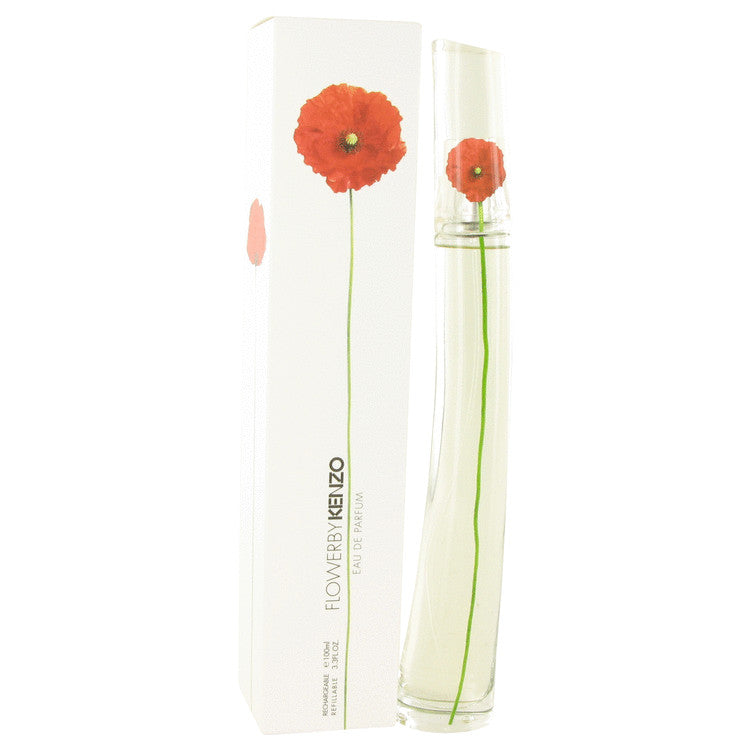 Kenzo Flower Eau De Parfum Spray Refillable By Kenzo - For Women