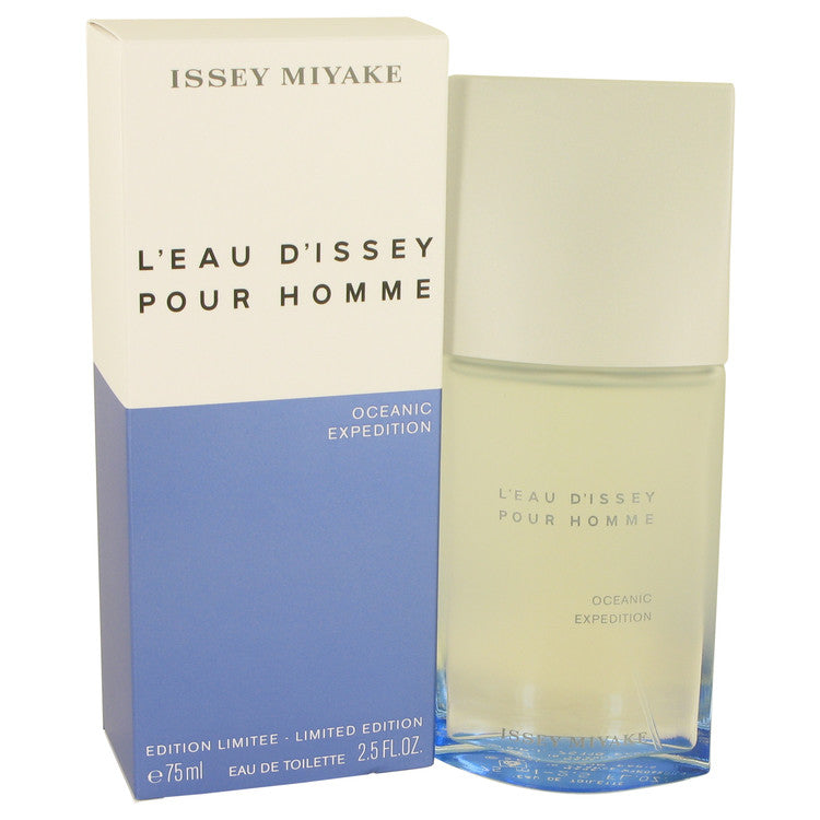 L'eau D'issey Pour Homme Oceanic Expedition Eau De Toilette Spray By Issey Miyake - For Men