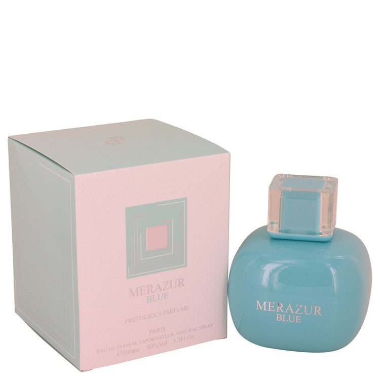 Merazur Blue Eau De Parfum Spray By Merazur - For Women