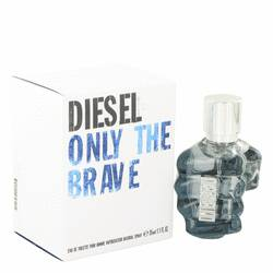 Only The Brave Eau De Toilette Spray By Diesel - For Men