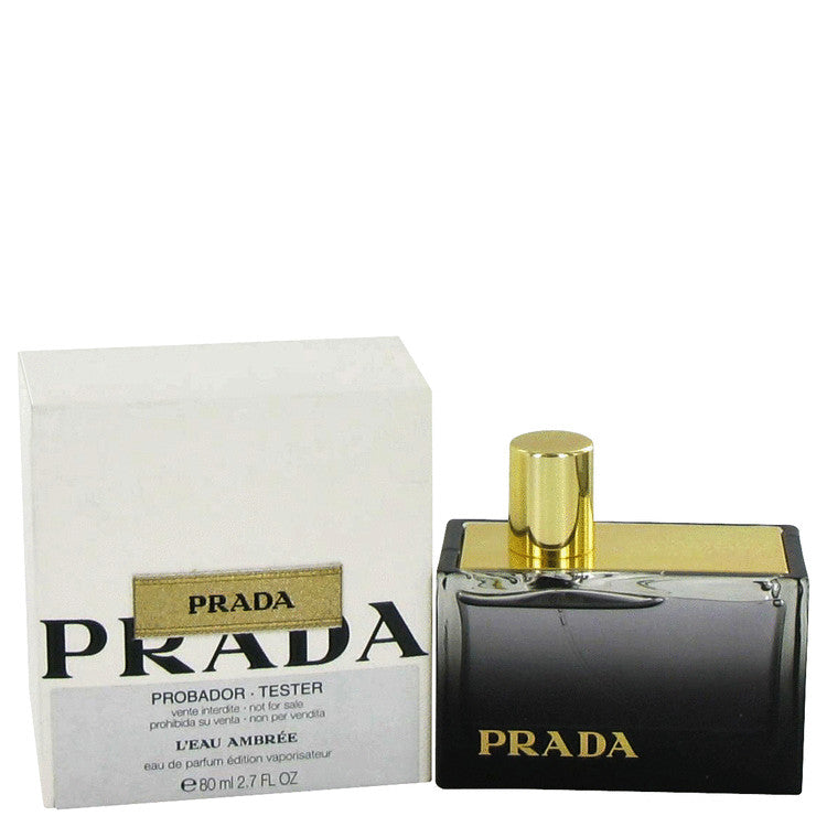 Prada L'eau Ambree Eau De Parfum Spray (Tester) By Prada - For Women