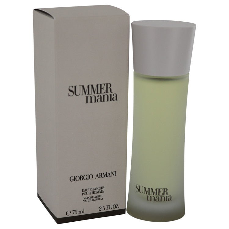 Summer Mania Eau Fraiche Spray By Giorgio Armani - For Men
