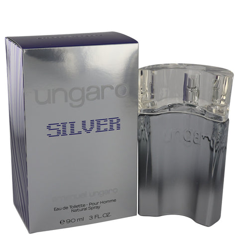 Ungaro Silver Eau De Toilette Spray By Emanuel Ungaro - For Men