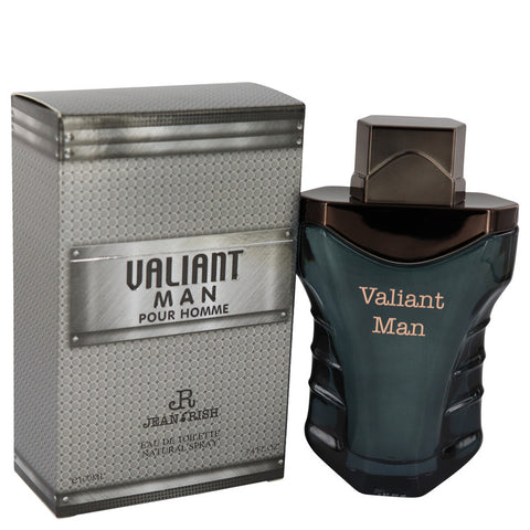Valiant Man Eau De Toilette Spray By Jean Rish - For Men