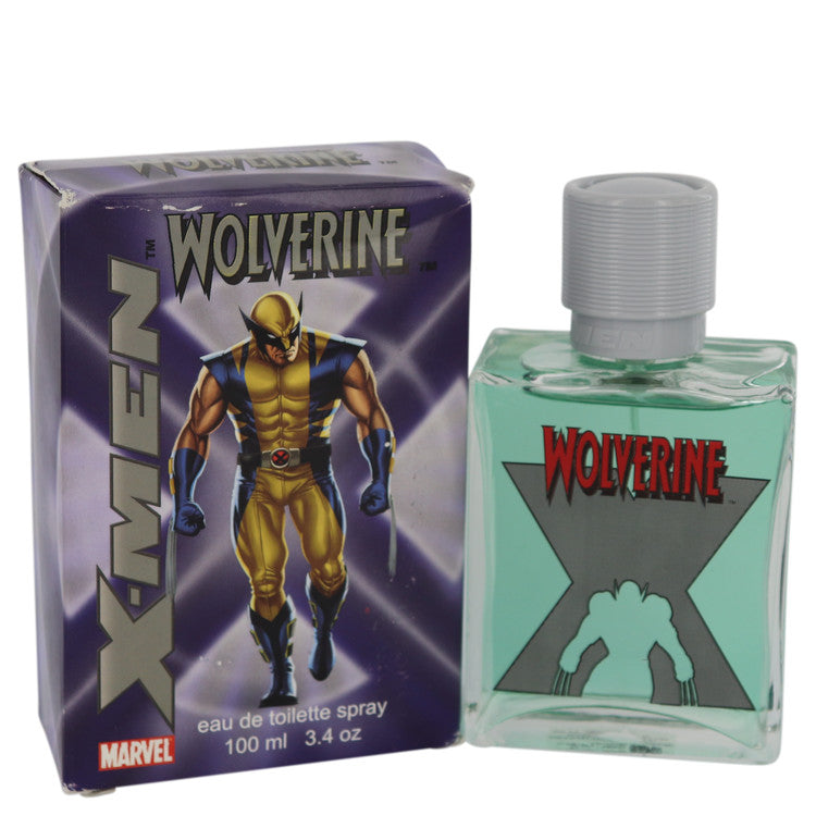 X-men Wolverine Eau De Toilette Spray (slightly damaged boxes) By Marvel - For Men