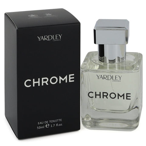 Yardley Chrome Eau De Toilette Spray By Yardley London - Men