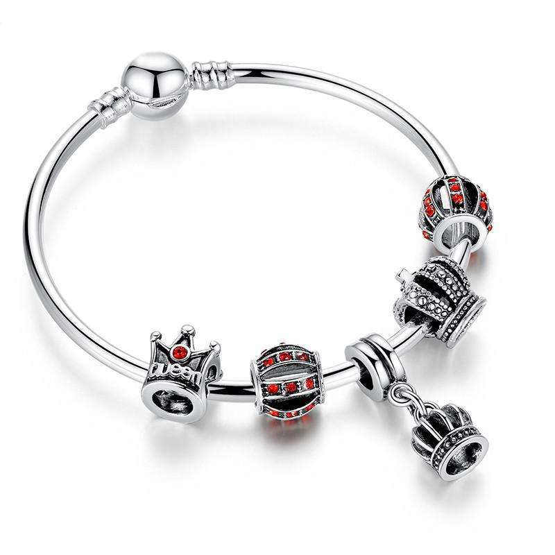 Bracelet Charms Crystal Ball