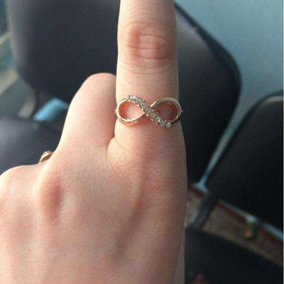Bague Infinity Gold - She-K.com