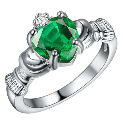 "Bague Irish ""Give my Heart"""
