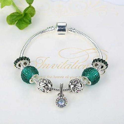 Bracelet Charms Emerald - She-K.com