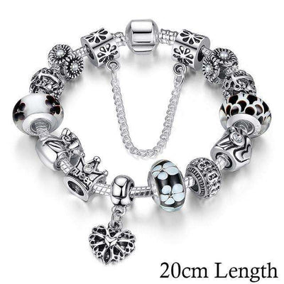 Bracelet Charms Queen Crown - She-K.com