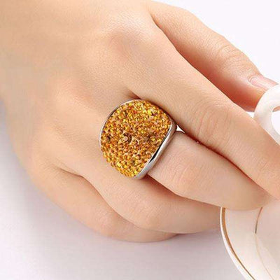 Bague Crystal Merry - She-K.com