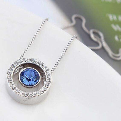 Collier Crystal Circle by Swarovski® Elements - She-K.com