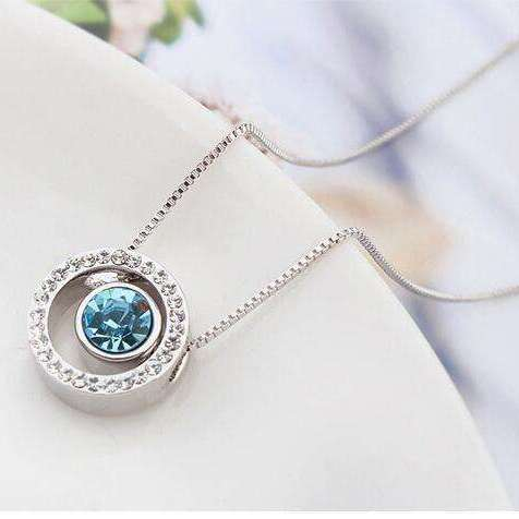 Collier Crystal Circle by Swarovski® Elements