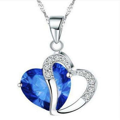 Collier Diamond Heart - She-K.com