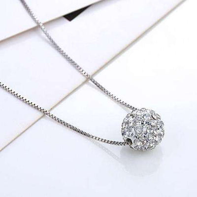 Collier Crystal Shamballa - She-K.com