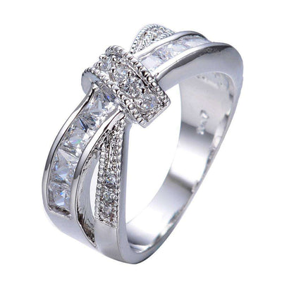 Bague White Janet - She-K.com