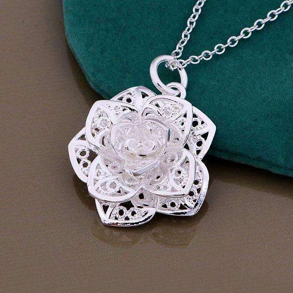 Collier Flower Rose