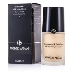 Giorgio Armani Luminous Silk Foundation - # 3 (Pale Peach) 30ml/1oz