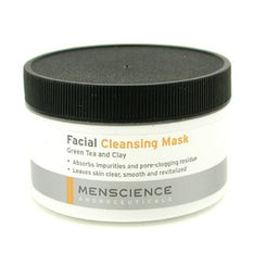 Menscience Facial Cleaning Mask - Green Tea And Clay 90g/3oz