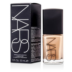 NARS Sheer Glow Foundation - Mont Blanc (Light 2 - Light w/ Pink Undertone) 30ml/1oz