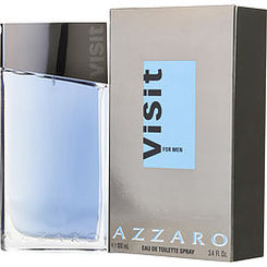 AZZARO-VISIT EAU DE TOILETTE SPRAY 100ML/3.4OZ