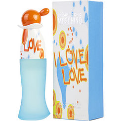 MOSCHINO-I LOVE LOVE EAU DE TOILETTE SPRAY 50ML/1.7OZ