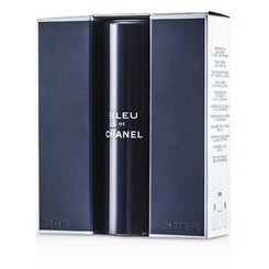 Chanel Bleu De Chanel Eau De Toilette Travel Spray & Two Refills 3x20ml/0.7oz